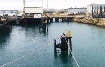 Navy Frigate Berthing Feasibility Study